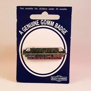 Class 55 Deltic 55002 Badge
