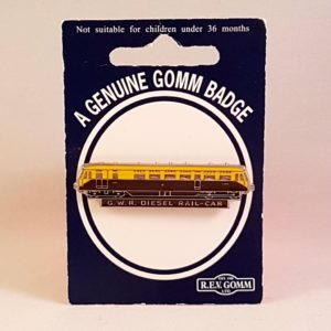 GWR Railcar Badge