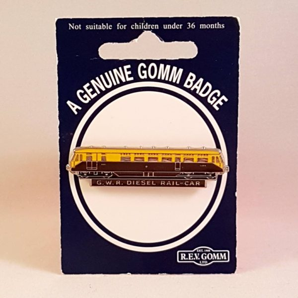 GWR Diesel Railcar Badge