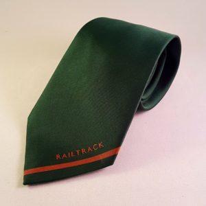 Railtrack Green Tie