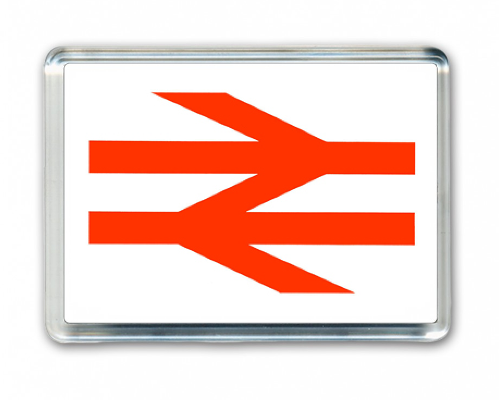 BR Arrow Fridge Magnet