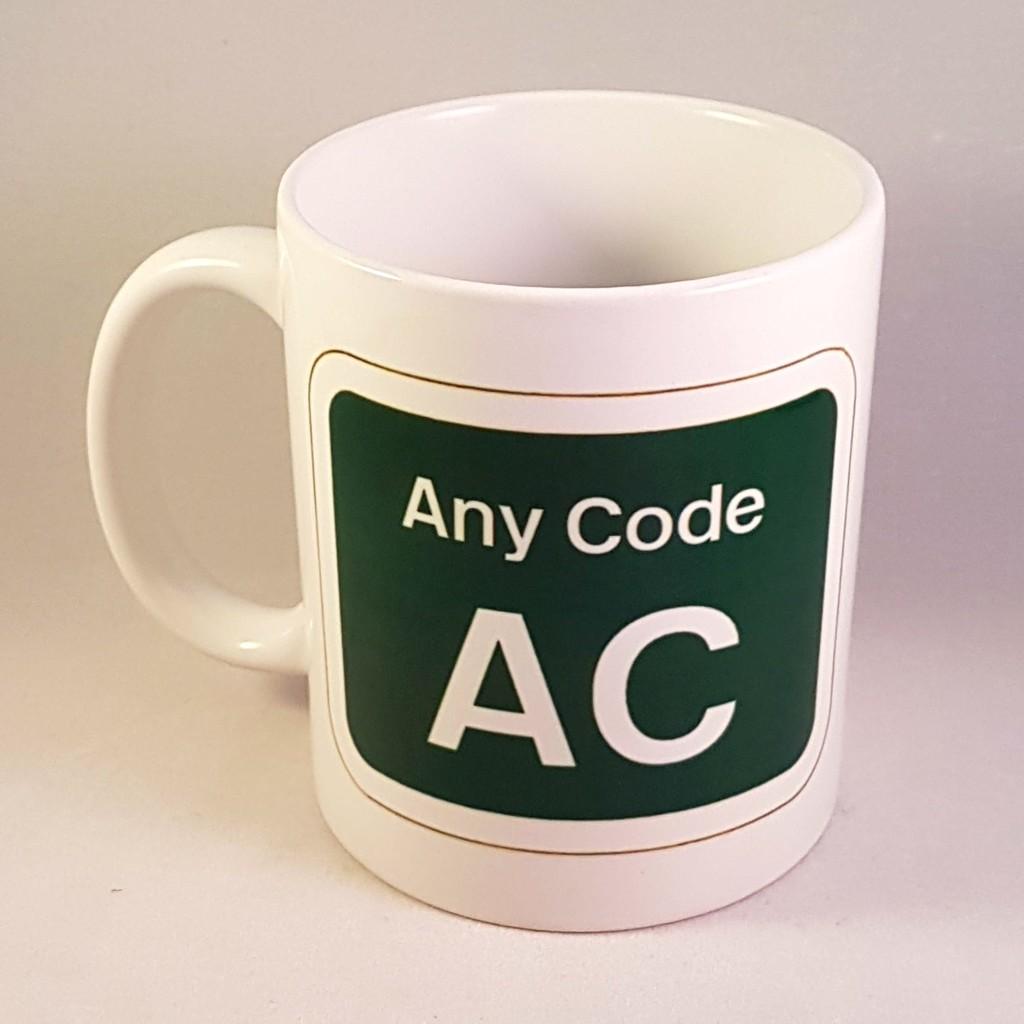 Customised Depot Code Mug