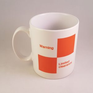 Warning Limited Clearance Mug