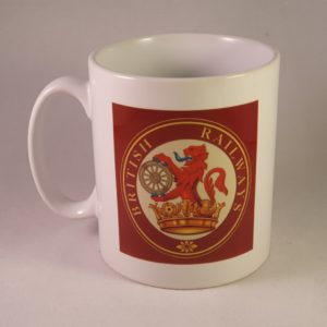 British Railways Ferret & Dartboard Mug