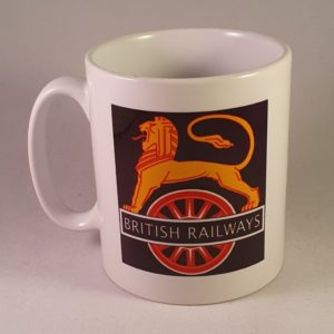 British Railways Lion & Wheel Mug