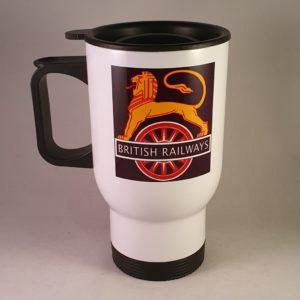 British Railways Lion & Wheel Travel Mug