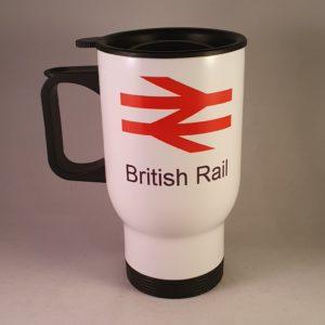 British Rail Double Arrow Travel Mug