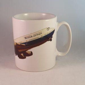 BA Boeing 747-436 Negus 1974 Ceramic Mug
