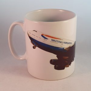 BA Boeing 747-436 Current 1997 Ceramic Mug