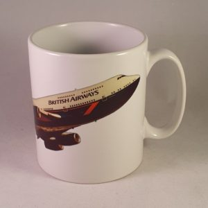 BA Boeing 747-436 Landor 1984 Ceramic Mug