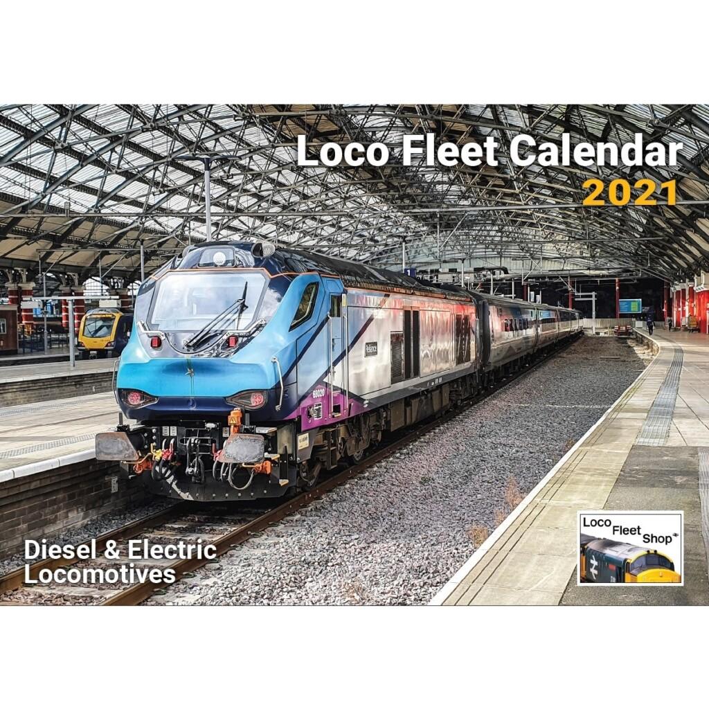 Loco Fleet 2021 Calendar Cover